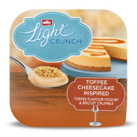 Müllerlight Crunch Toffee Cheesecake Flavour