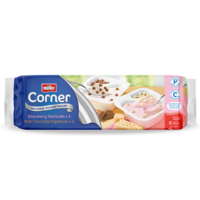Crunch Corner Milk Chocolate Digestives & Strawberry Shortcake