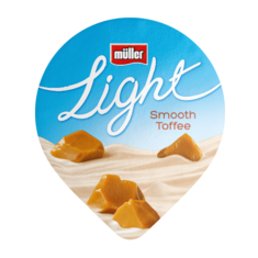 Müllerlight Smooth Toffee Flavour