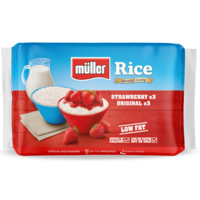 Müller Rice Strawberry & Original