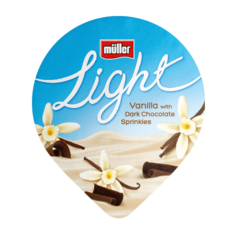 Müllerlight Vanilla & Dark Chocolate sprinkles
