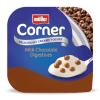Crunch Corner Milk Chocolate Digestive