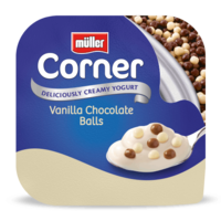 Crunch Corner Vanilla Chocolate Balls