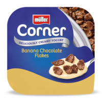 Crunch Corner Banana Chocolate Flakes