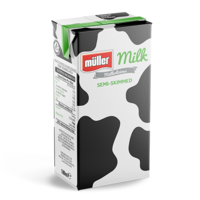 Müller Milk Müller Mini Milk - Semi-Skimmed Milk 189ml